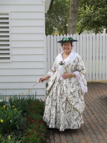 Janet VanMeter, Colonial Williamsburg, 2017.