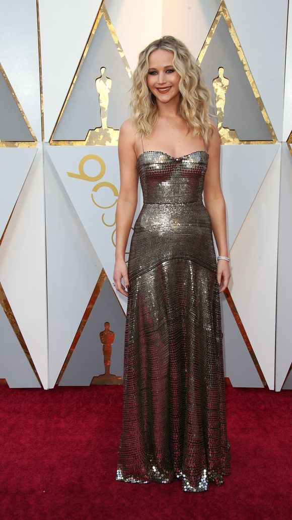 oscars 2018 jennifer lawrence