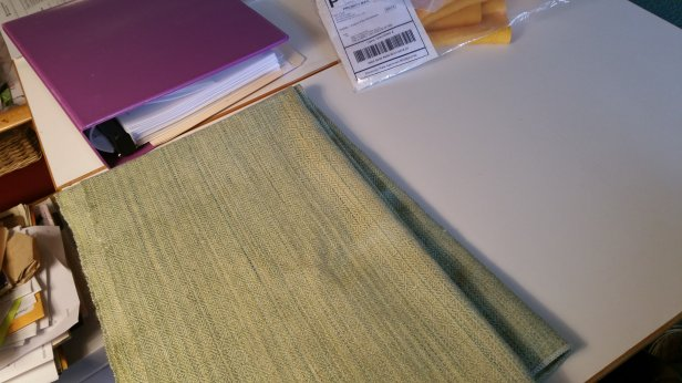 Joy Selby Cain's green wool that I bought 2