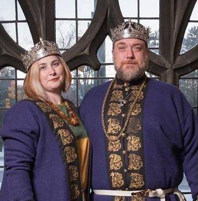 Prince Alric and Princess Katherine, Midrealm Kingdom, 2018