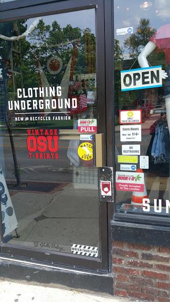 clothing underground