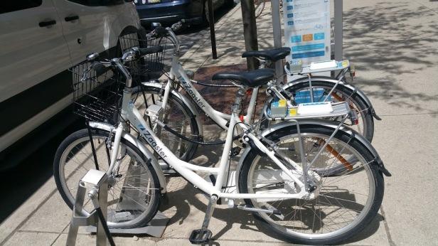 Zagster bikes