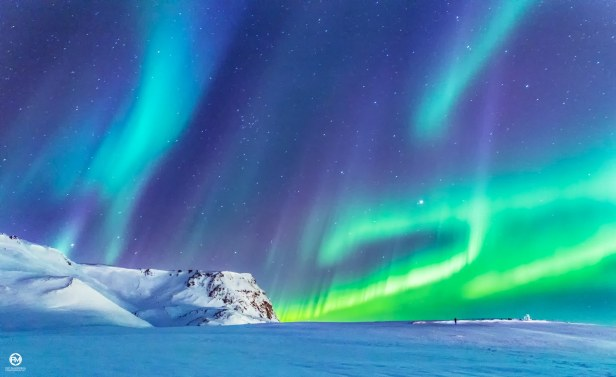 Northern Lights in Vik 2