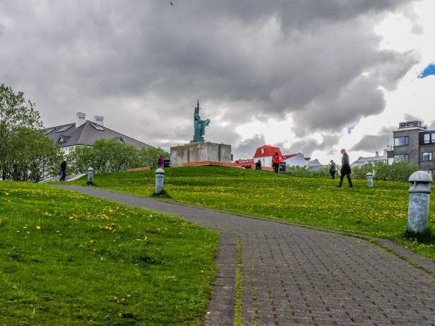 statue and park-near-culture-house-reykjavik-1