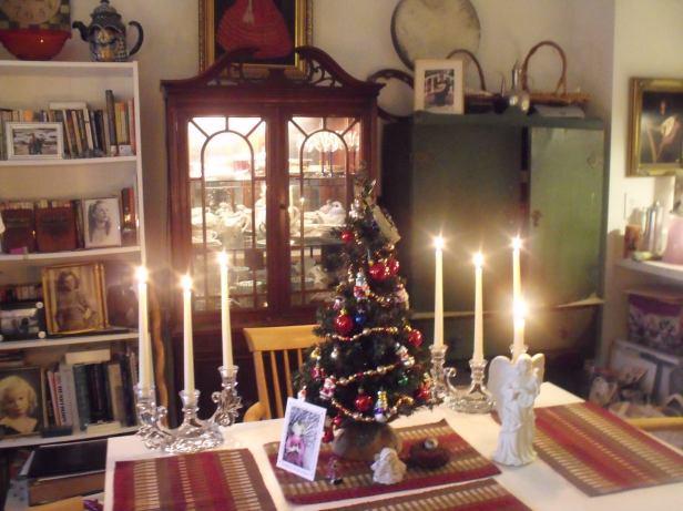 Christmas tabletop tree 2016