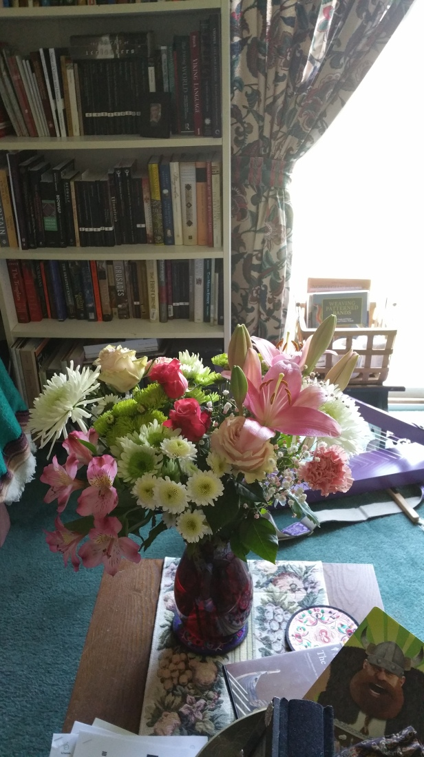 Mother's Day flowers from Nick and Summer