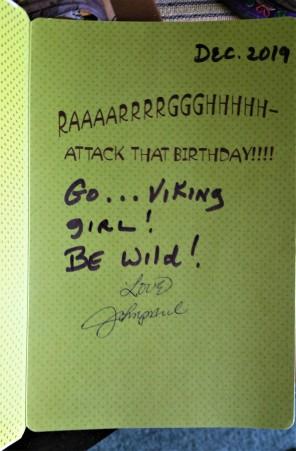 Viking BD card 2019 from Johnpaul, inside